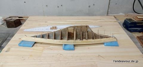 Voilier Endeavour classe J (Plan 1/80°) par papy biquet 20210114