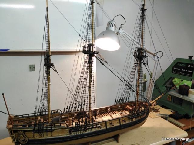 l'amarante corvette de 1747  sur plan de Mr Delacroix  - Page 18 Img_2015