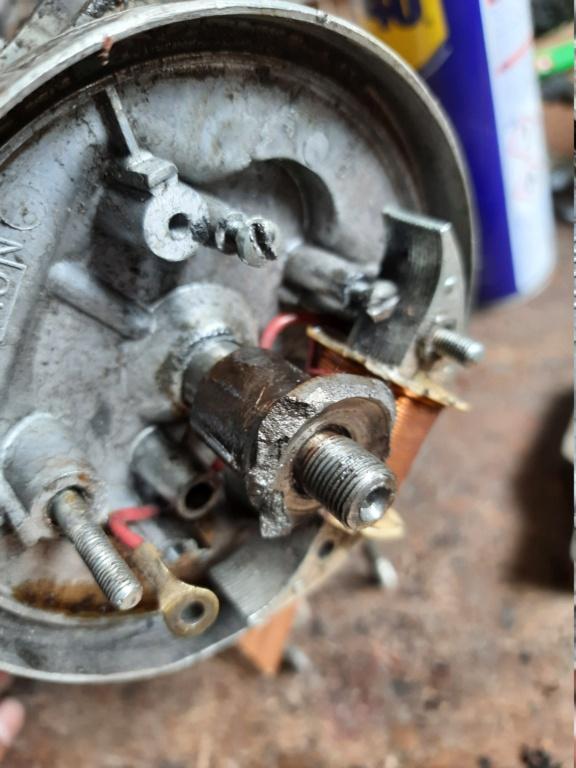 Sacar leva platinos rota por el pripio extractor 20210510
