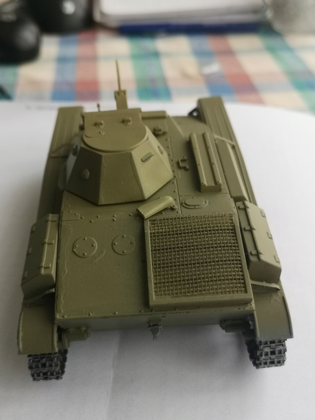 T 60 - Pz.Kpfw. T 60 743 (r) - 1/35- Mister Craft - Page 2 Img_2062