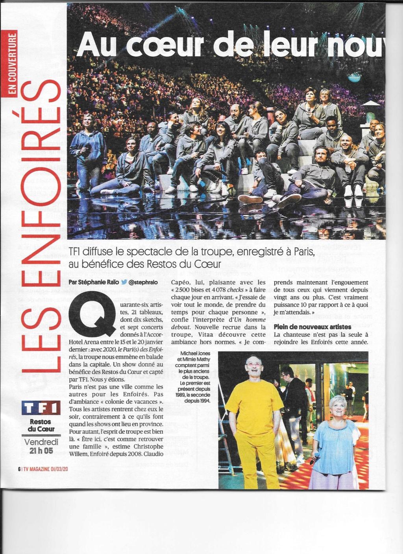 La presse du pari(s) des Enfoirés 2020  Scan0017