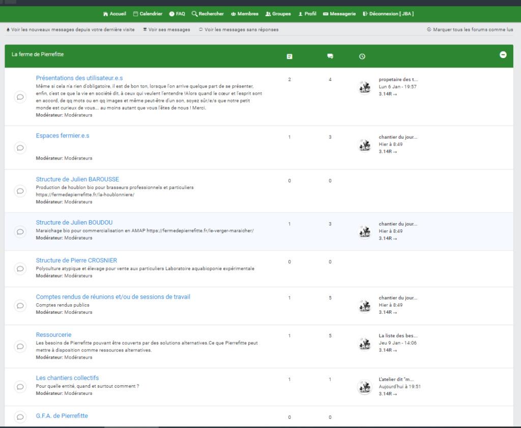 Hierarchie du forum non fonctionnelle  Result10