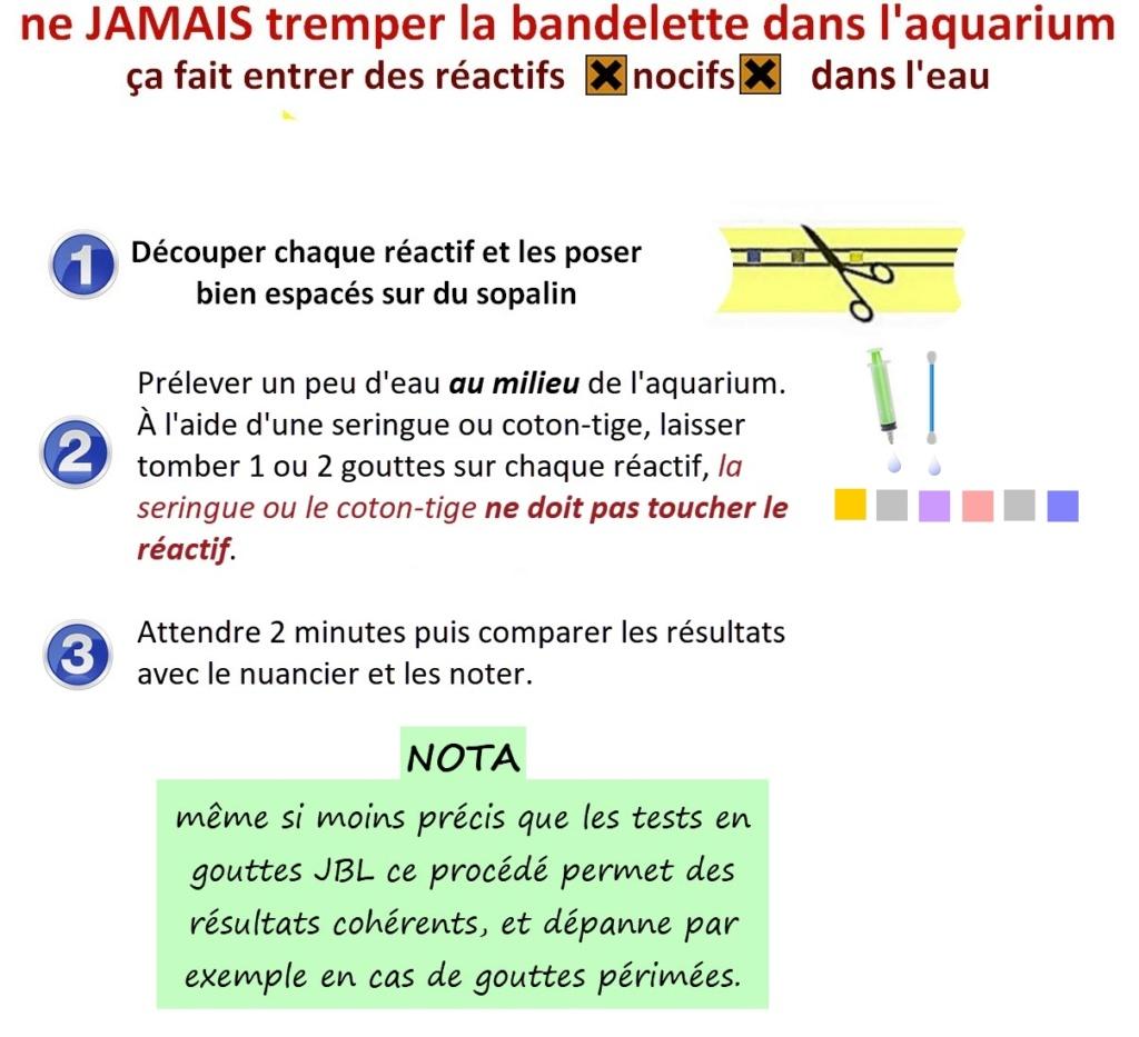 Tests nitrates JBL Bandel28