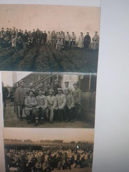 Cartes Postales Camp Gross-Portisch WWI 20200314