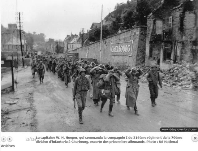 Le 19 juin à 14 h 30 la ville de Cherbourg capitule. Cherbo10