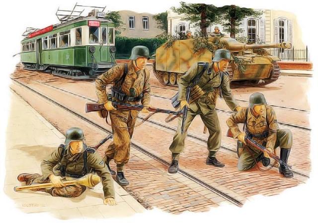 Arnhem, septembre 1944 Dessin10