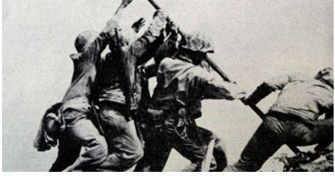 Corps des Marines. 2ème Guerre mondiale, correspondants de guerre Goya11