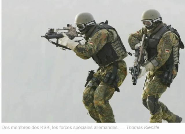 Coup de balai parmi les troupes d'élite d'Allemagne Ksk11