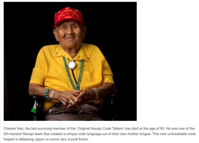 LES CODE-TALKERS RADIO NAVAJO Navajo10