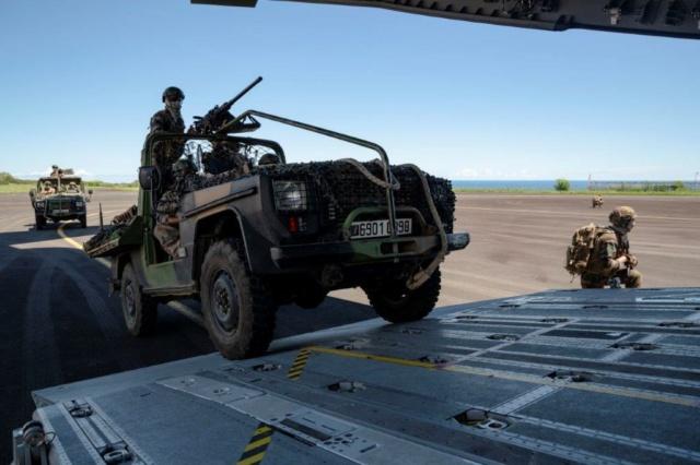 Posé d'assaut pour le 2e RPIMa Rp310