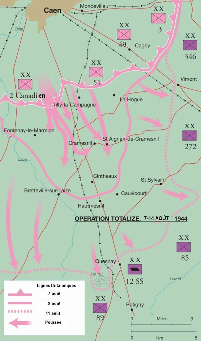 Ces jours-là : 7 et 8 aout 1944, Totalize Totali10