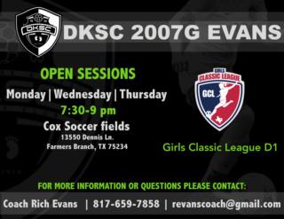 DKSC 07G Evans - Classic League D1 67031210