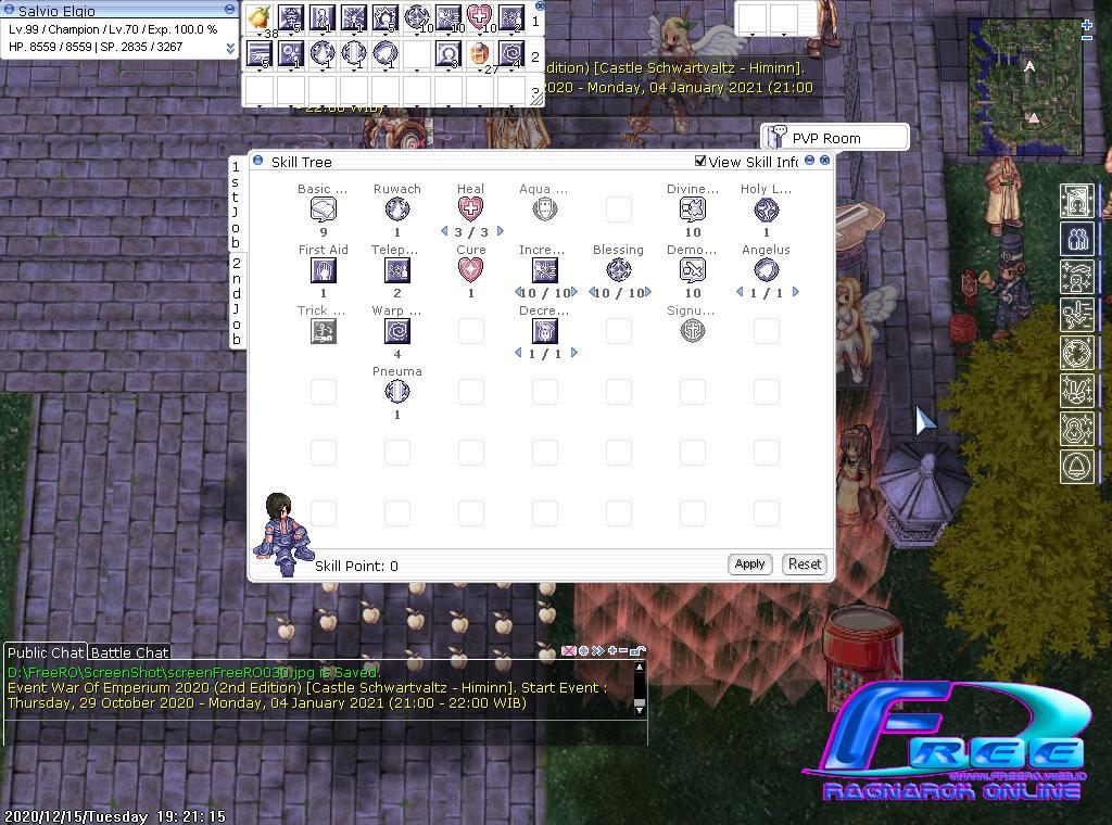 [Sayembara] Tutorial Build Job CHAMPION Screen13