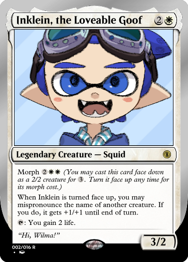 Secret Vault: Heroes of Squidkid Saga - A Silver-Bordered Card Set by The Author 002_in11