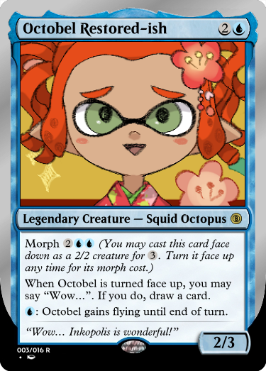 Secret Vault: Heroes of Squidkid Saga - A Silver-Bordered Card Set by The Author 003_oc11