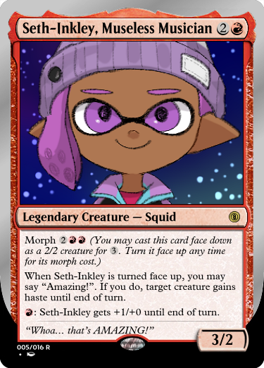 Secret Vault: Heroes of Squidkid Saga - A Silver-Bordered Card Set by The Author 005_se11