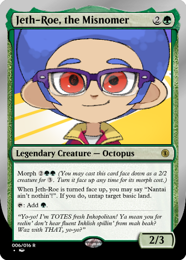Secret Vault: Heroes of Squidkid Saga - A Silver-Bordered Card Set by The Author 006_je11