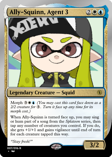 Secret Vault: Heroes of Squidkid Saga - A Silver-Bordered Card Set by The Author 007_al11