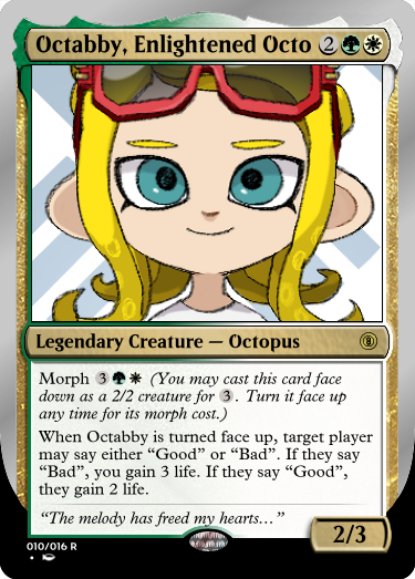 Secret Vault: Heroes of Squidkid Saga - A Silver-Bordered Card Set by The Author 010_oc11