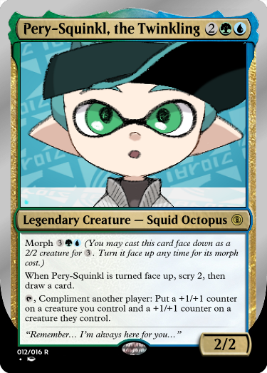 Secret Vault: Heroes of Squidkid Saga - A Silver-Bordered Card Set by The Author 012_pe11