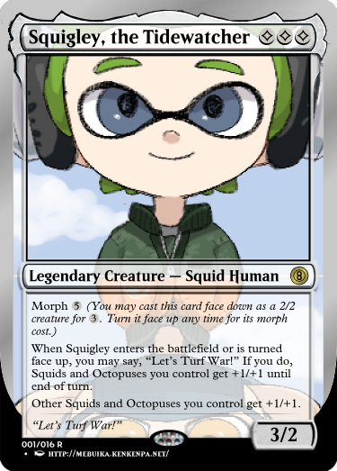 Secret Vault: Heroes of Squidkid Saga - A Silver-Bordered Card Set by The Author 01_squ10
