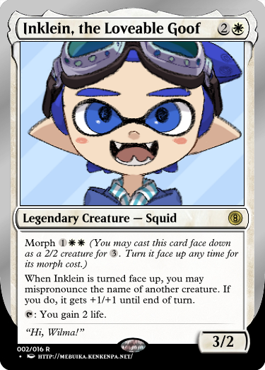 Secret Vault: Heroes of Squidkid Saga - A Silver-Bordered Card Set by The Author 02_ink10