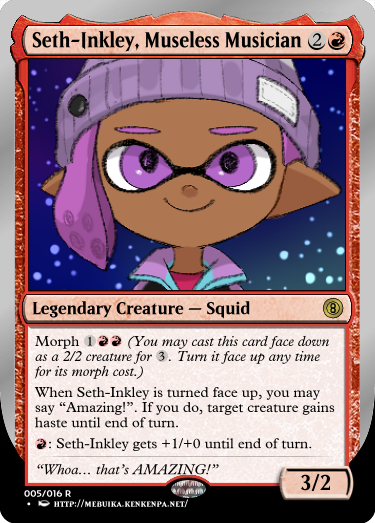 Secret Vault: Heroes of Squidkid Saga - A Silver-Bordered Card Set by The Author 05_set10
