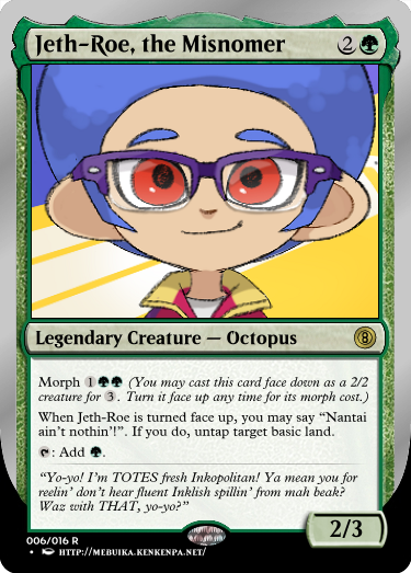 Secret Vault: Heroes of Squidkid Saga - A Silver-Bordered Card Set by The Author 06_jet10