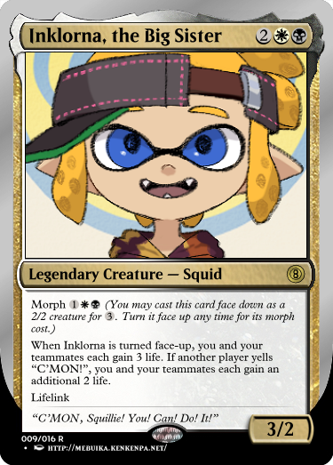 Secret Vault: Heroes of Squidkid Saga - A Silver-Bordered Card Set by The Author 09_ink10