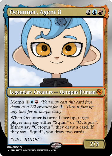 Secret Vault: Heroes of Squidkid Saga - A Silver-Bordered Card Set by The Author 11_oct10