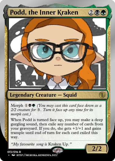 Secret Vault: Heroes of Squidkid Saga - A Silver-Bordered Card Set by The Author 13_pod10