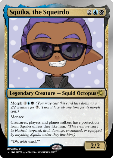 Secret Vault: Heroes of Squidkid Saga - A Silver-Bordered Card Set by The Author 15_squ10