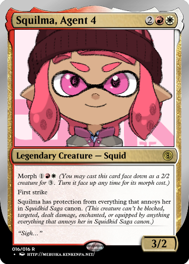 Secret Vault: Heroes of Squidkid Saga - A Silver-Bordered Card Set by The Author 16_squ10