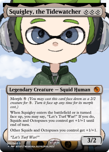 Secret Vault: Heroes of Squidkid Saga - A Silver-Bordered Card Set by The Author M1_squ10