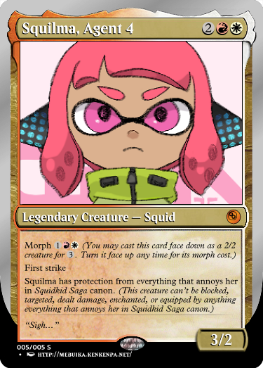 Secret Vault: Heroes of Squidkid Saga - A Silver-Bordered Card Set by The Author M5_squ10