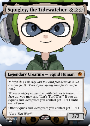 Secret Vault: Heroes of Squidkid Saga - A Silver-Bordered Card Set by The Author Mp1_sq11