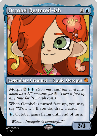 Secret Vault: Heroes of Squidkid Saga - A Silver-Bordered Card Set by The Author Mp2_oc10