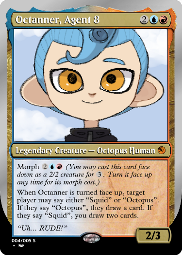 Secret Vault: Heroes of Squidkid Saga - A Silver-Bordered Card Set by The Author Mp4_oc10