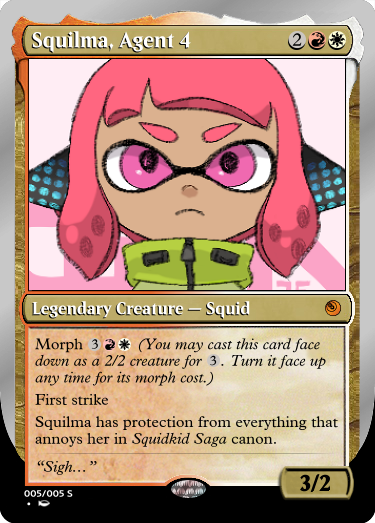 Secret Vault: Heroes of Squidkid Saga - A Silver-Bordered Card Set by The Author Mp5_sq12