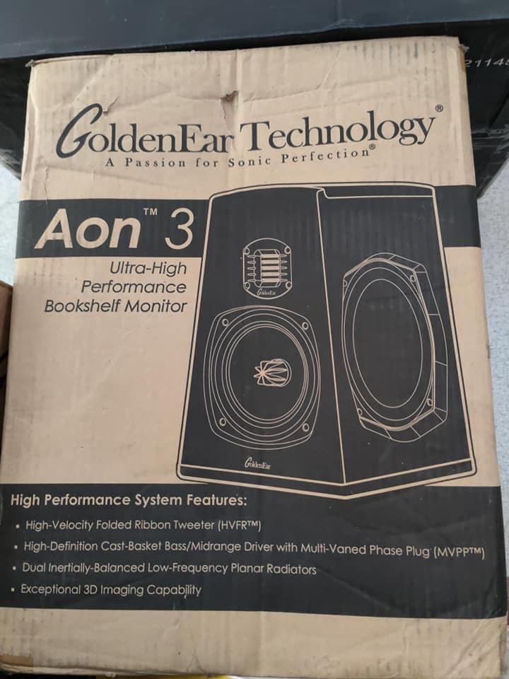 Goldenear Aon 3 Bookshelf Speakers 12301410