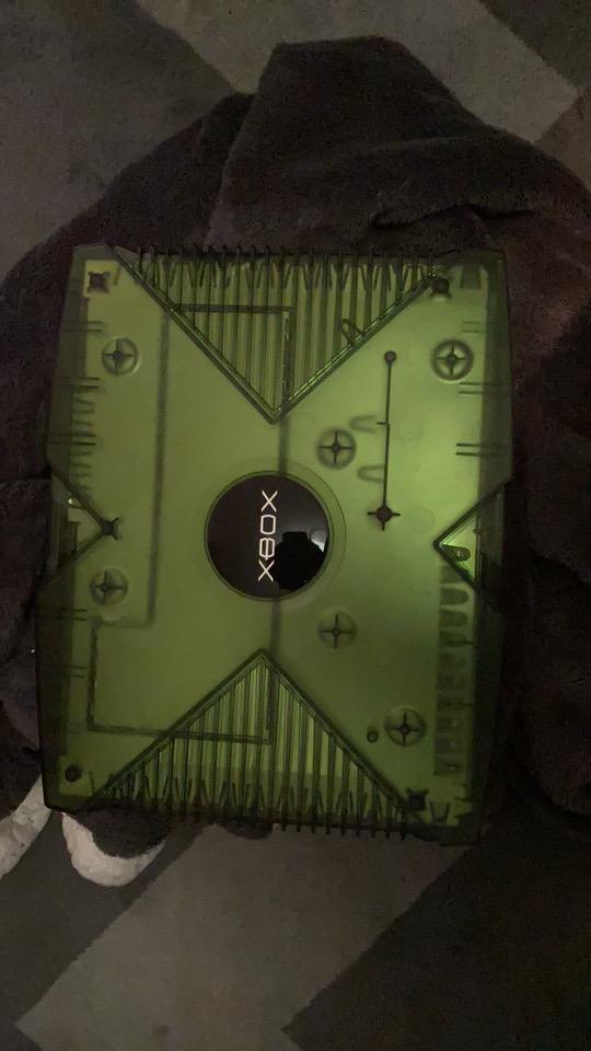 Xbox édition Crystal verte 212d5310