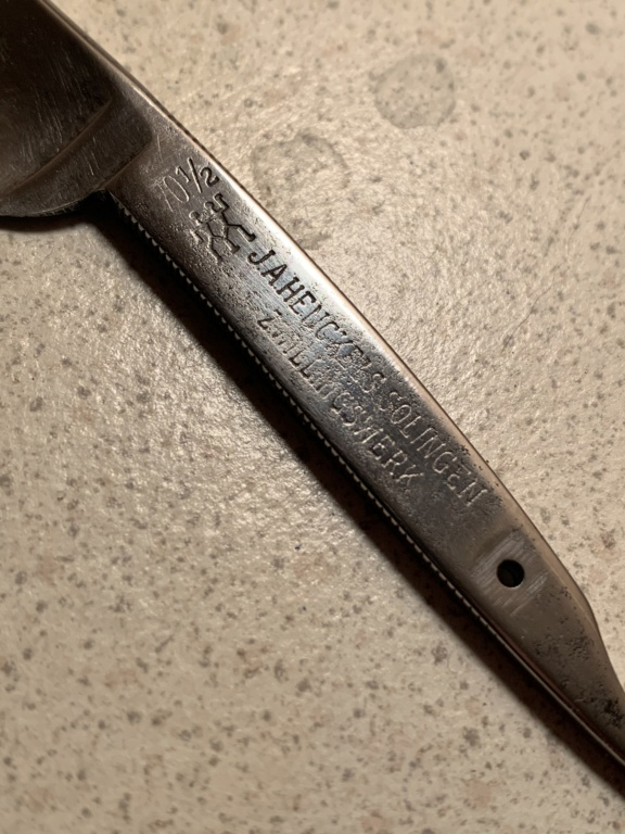 1ère restauration J.A. Henckels  Fee24510