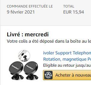 Support Smartphone Efficace et pas chere ! Amazon11