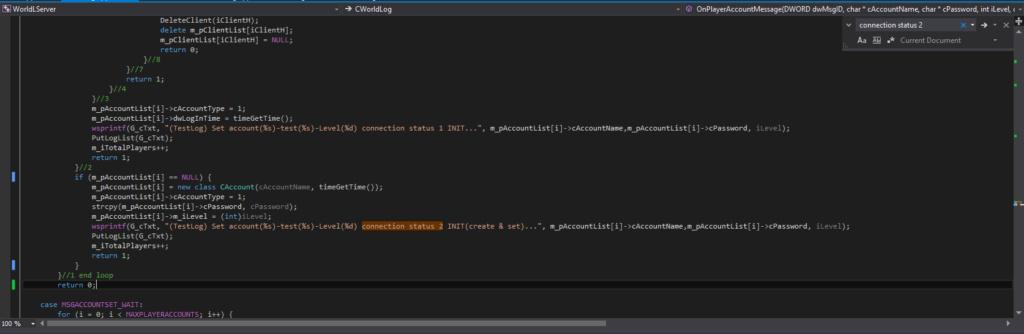 Connection Status INIT (Create & Set) Imagen11