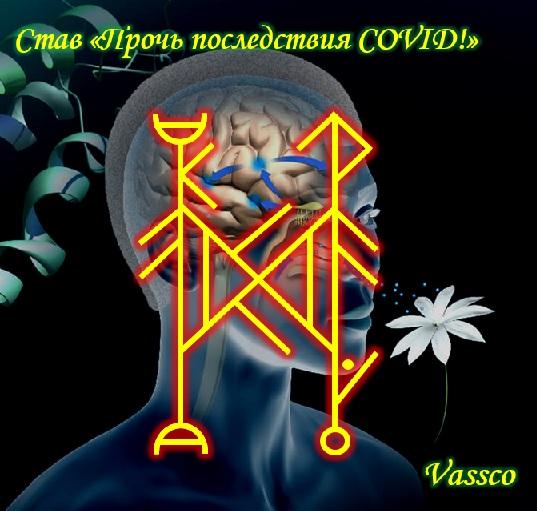 """Став """" Прочь последствия COVID! """" от Vassco 10"""