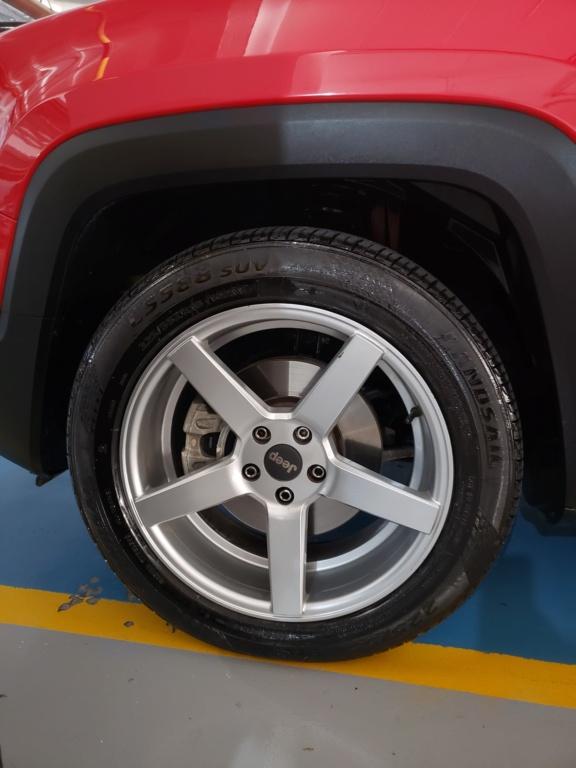 Vendo rodas aro 18 com pneus 20210412
