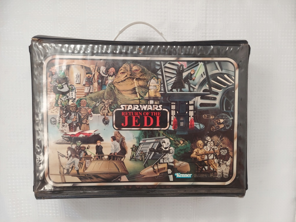 Return of the Jedi Vinyl Case with tan trays 20210412