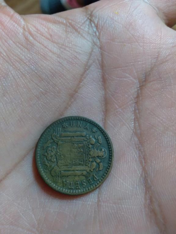 1 peseta 1953. Estado Español. ¿valor? 20210512