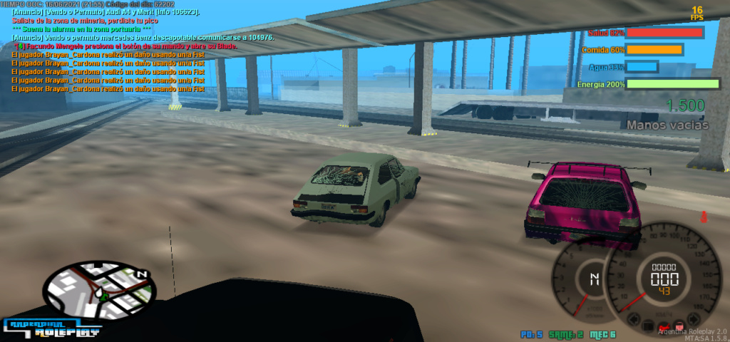 [Reporte] Brayan Cardona - DM car Mta-sc32