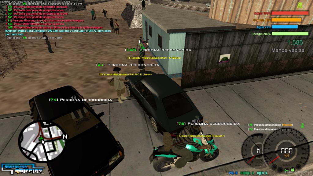 [Reporte] -Una bandita que no alcanzé a leerles el nombre-  No rolear entorno  No tener spec en robo  Captur10
